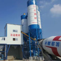 HZS60 mini stationary concrete batching plant in Pakistan