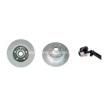 Trailer Rubber Torsion Axle With Mechanical Disc Brake