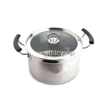 Nonmagnetic Stainless Steel Korean Style Sauce Pot