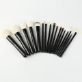Professional goat hair makeup brush set
