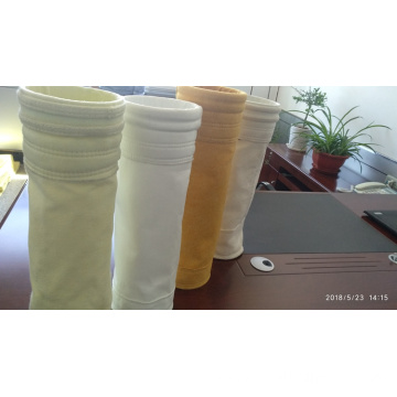 PPS industrial non-woven needle punched filter bag
