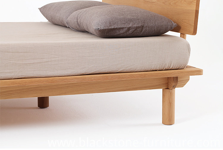Oak Wood Bed