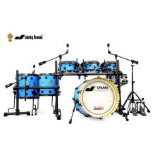 Low Cost for China Pvc Drums,Snare Drum,Pvc Cover Drum Manufacturer and Supplier Hot Sale 7 Pieces Drum Kit supply to French Polynesia Factories