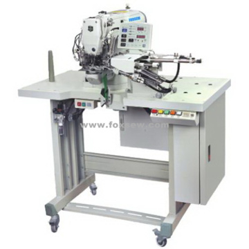 Automatic Belt Loop Attaching Bar tacking Sewing Machine