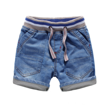 Children Cotton Trousers Wash Soft Short Jeans Wholesale