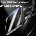 Light and slim portable phone charger power bank