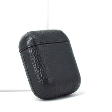 Custom Logo Leather Earphone Case Cover for Airpods