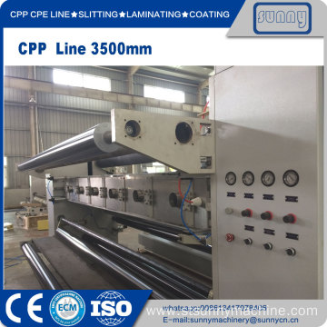 CPE 3 layers co-extrusion Casting film machine