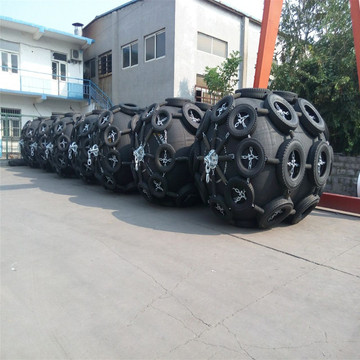 Pneumatic Natural Rubber Fender for Ship Berthing