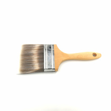 China for White Wooden Handle Paint Brush mini wooden handle bristle paintbrush and long hair paint brush supply to Brazil Factories