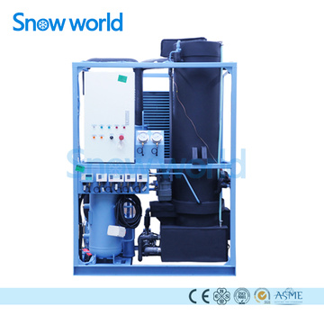 Snow world 1T Ice Tube Making Machine