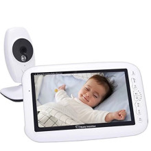 Customized for 3.2Inch Body Care Monitor Night Vision Audio Video 7inch Baby Monitor Wireless export to South Korea Wholesale