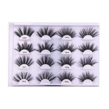 Etiqueta privada Custom Korean Mink False Lashes