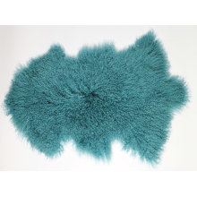 Mongolian Sheepskin Cushion In Door