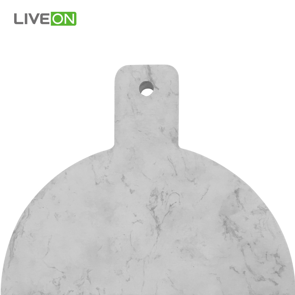Round Marble Wood Cutting Board