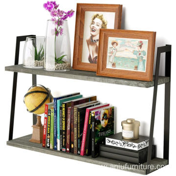 Floating Shelves Wall Mounted Rustic Wood Shelves