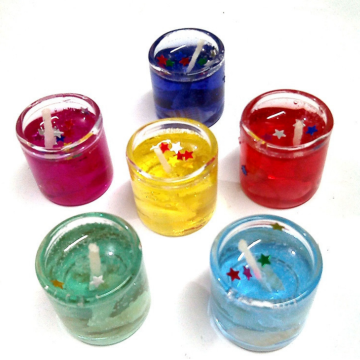 Fragrance Decoration Gel Candle Wholesale Supplies