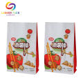 ECO Friendly Reusable Flat Bottom Zip Bag Packaging