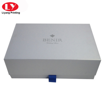 Good quality folding magnetic cardboard belt box