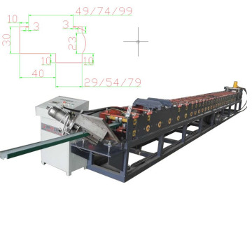 New type door frame making machine