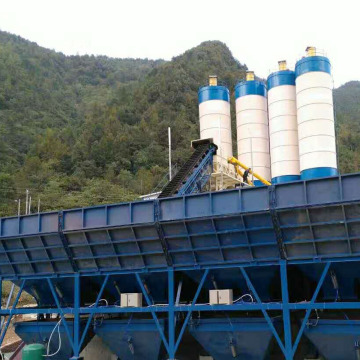 Best quality belt conveyor concrete batching plant