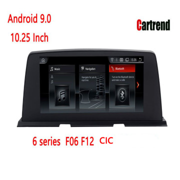6 séries F06 F12 Bluetooth Android Radio