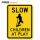 Reflective STOP-SLOW traffic paddles