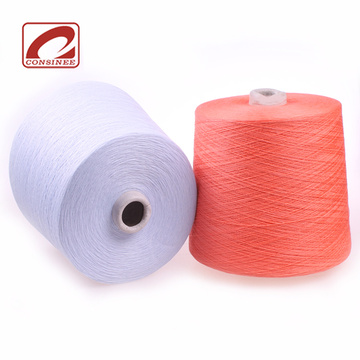 knitting 48Nm cotton cashmere yarn for machine knitting