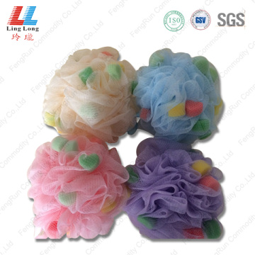conducive sponge mesh bath ball