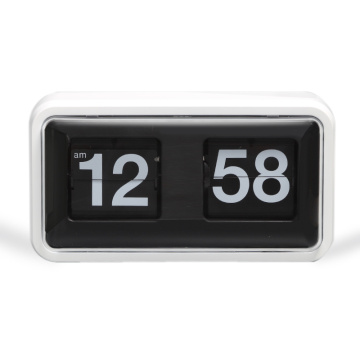 Best Quality for Flip Clock Karlsson Plastic Box Flip Clock with Cover export to Swaziland Supplier