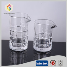Best Quality for Mixing Glasses, Cocktail Mixing Glass, Bar Mixing Glass, Glass Carafe Manufacturer in China red wine hand pressed glass decanter export to French Guiana Manufacturers