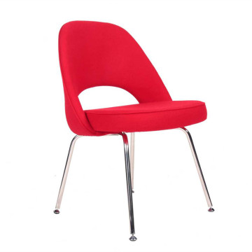 OEM China High quality for Modern Fabric Lounge Chair Eero Saarinen Armless Executive Side Chair supply to Portugal Factory