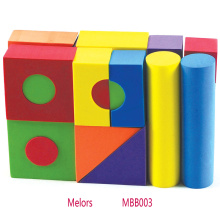 25pcs DIY educational toy EVA foam building blocks