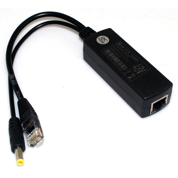 Chinese Professional for Security Single Port POE splitter 48VDC to 12VDC supply to Netherlands Suppliers