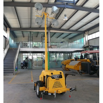 7m Elevating Trailer Light Tower