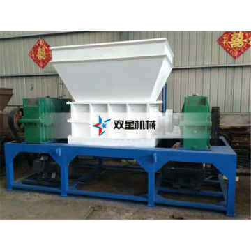 industrial scrap rubber shredder machine