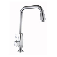 Modern design cheap kitchen faucet in zinc
