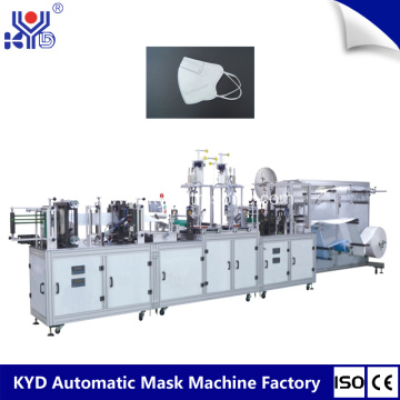 Automated Folding Type Dust Masks Making Machine