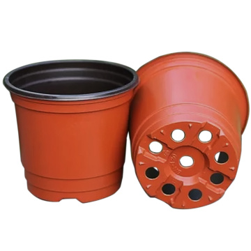 Flower pot plastic injection mould