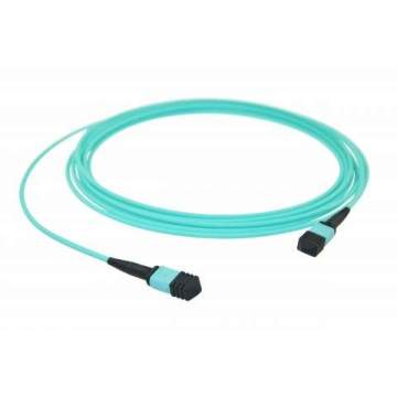 Factory Price for Mtp Fiber Optic Cable MPO/MTP - MPO/MTP 100G OM4 8core trunk cable supply to Peru Suppliers
