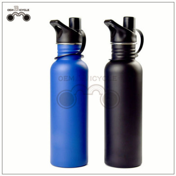 750ML stainless steel mountain bike bicycle water bottle for sale