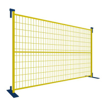 Canada style PVC coated temporary fence panel