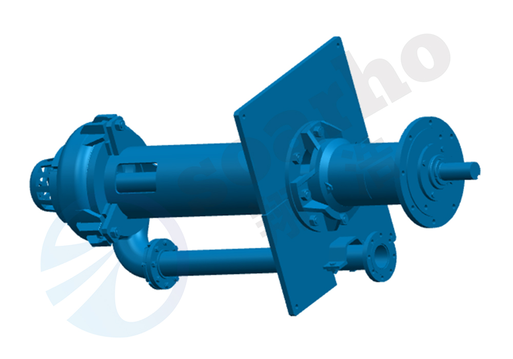 250TVL-SP Lengthening Sump Slurry Pump