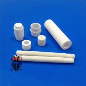 Free sample for Machinable Glass Ceramic Tube zerodur glass machining ceramic industrial rods plungers export to Netherlands Manufacturer