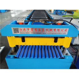Corrugated Sheet Roofing Roll Forming Machinery