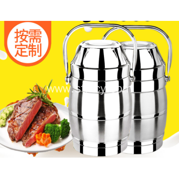 Stainless Steel Insulated Double Compartment Food Container