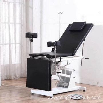 Multifunctional electric gynecological examination table