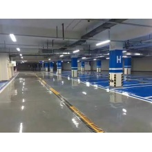 Flat coating epoxy floor paint for parking lot