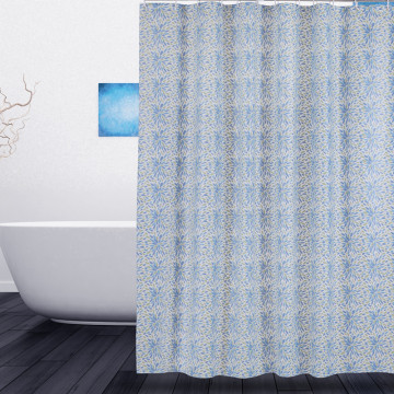 New Arrival China for Shower Curtain Liner Shower Curtain PEVA Colorful Leaves export to Afghanistan Importers
