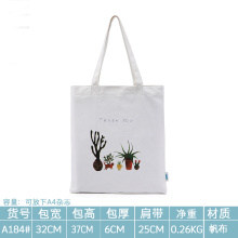 Simple single shoulder bag environmental shopping bag